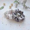 cream scrunchie