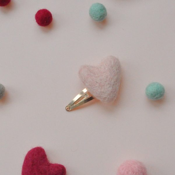 pink blossom clip