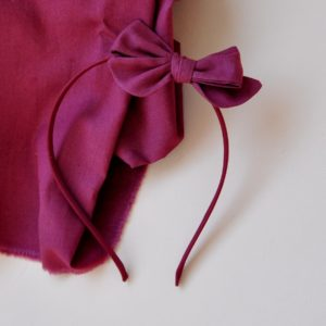 berry red obroč za lase