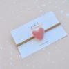 dusty rose heart