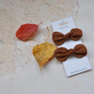 fall brown elastike za lase