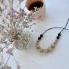 iris silikonska ogrlica