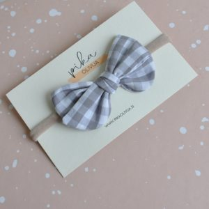 EVERLY gray gingham